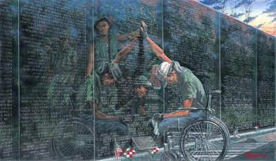 Vietnam Wall : mean like walls hmmm how about the vietnam memorial wall