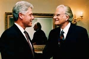 Billy Graham Bill Clinton