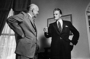 Billy Graham Dwight Eisenhower