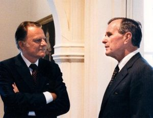 Billy Graham George H. Bush