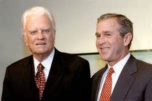 Billy Graham George W. Bush