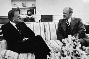 Billy Graham Gerald Ford