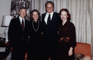 Billy Graham Jimmy Carter