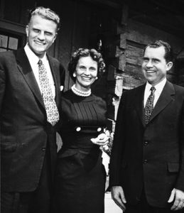 Billy Graham, Ruth, Richard Nixon montreat_NC
