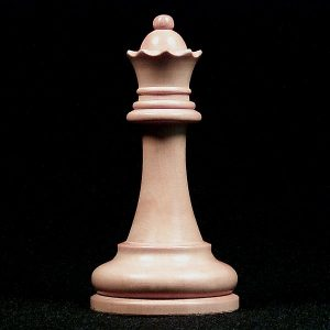 The Queen on the chessboard is the most powerful and most mobile of the chess pieces.